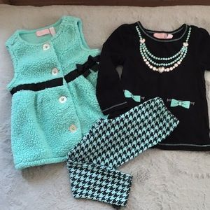 🍭 Girls three piece outfit